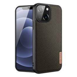 """DUX DUCIS Fino iPhone 13 mini 5,4"""" deksel med vevd overflate - grønn"""