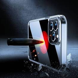 """X-level Space II iPhone 13 Pro Max 6,7"""" støtsikker deksel Gjenomsiktig"""