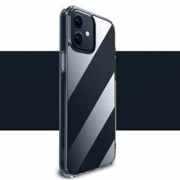"""X-level Space II iPhone 13 6,1"""" støtsikkert deksel - Gjennomsiktig"""