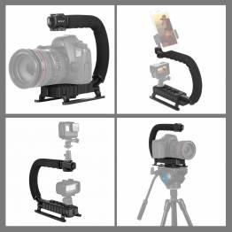 PULUZ stabiliserende bærehåndtak for DSLR, GoPro og videokamera