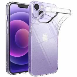 Ringke Air Ultra iPhone 13 mini Gel-deksel - Gjennomsiktig med glitter