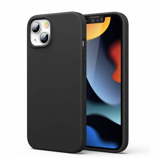 "Ugreen iPhone 13 6.1"" beskyttende silikondeksel - svart"