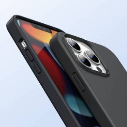 "Ugreen iPhone 13 Pro Max 6.7"" beskyttende silikondeksel - svart"