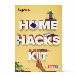 Sugru 'fix it' modelleringsvokslim - Home Hacks Kit med hefte og 4-pak