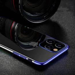Clear Color deksel til iPhone 12 mini - blå