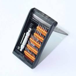 Ugreen skrutrekkersett i aluminium for iPhone, iPad og Mac med 36 bits