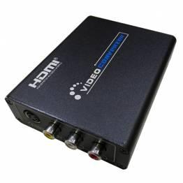 HDMI til AV + S-Video Video Converter