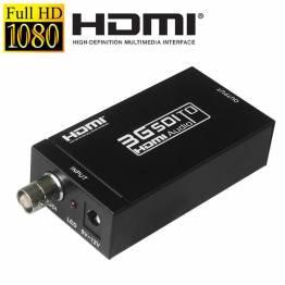 MINI 3G SDI til HDMI aktiv omformer adapter