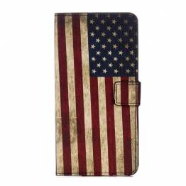 iPhone X cover med flag