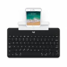 Logitech keys-to-go Ultra Slim-tastatur med iPhone/iPad-stativ