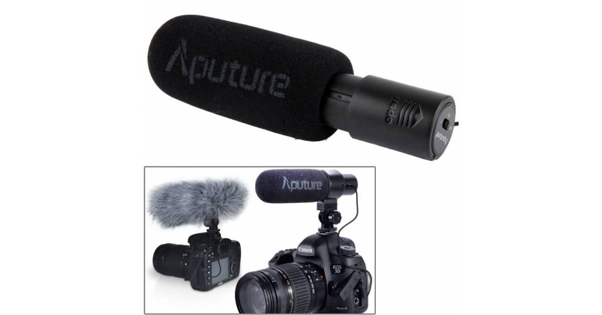 Aputure D1 stereo DSLR mikrofon Mackabler.no fra Aputure