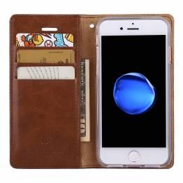 Skinndeksel til iPhone 7/8 & 7 +/8 + i brun