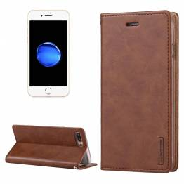 læder cover til iPhone 7/8 &7+/8+ i brun