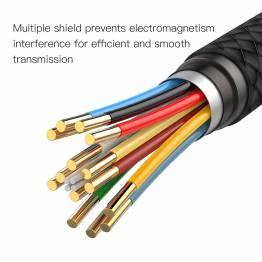 USB-C til HDMI kabel i mørk på 1,8m Baseus