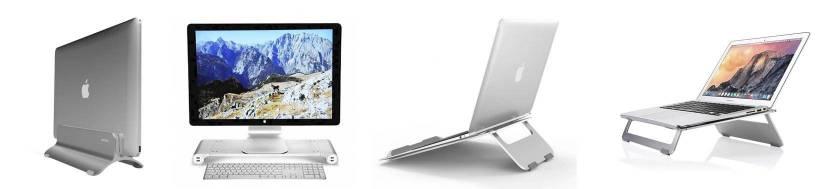 MacBook stands-gjør skrivebordet mer Shakers!