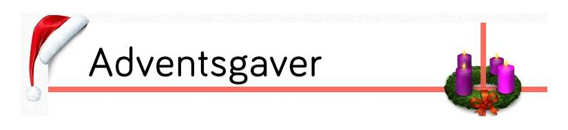 Adventsgaver