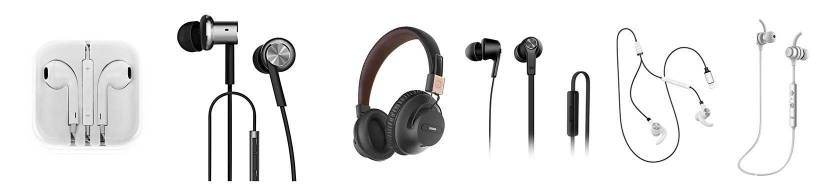 Headsets til iPhone/iPad/iPod